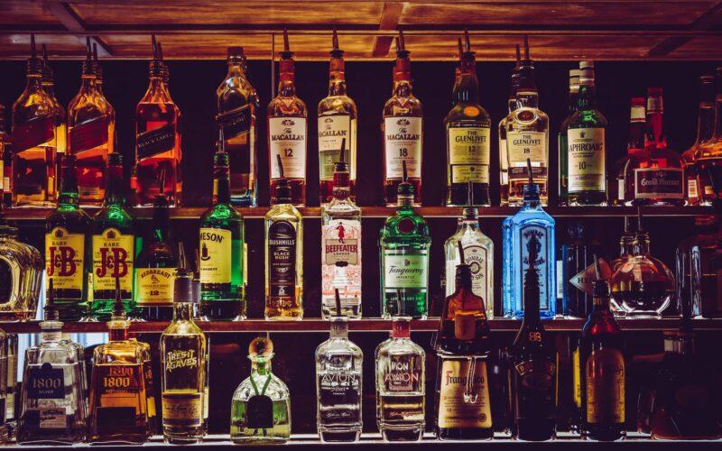 Extensive Drinks Menu